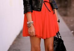 leather and frill