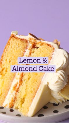 Fun Baking Recipes, Lemon Recipes, Sweet Recipes, Dessert Recipes, Recipes For Cakes, Cooking Recipes, Healthy Cake Recipes, Cake Recipes From Scratch, Just Desserts