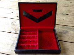 Vintage Jewelry Box Lord Buxton Mid Century by RipeAndRecherche