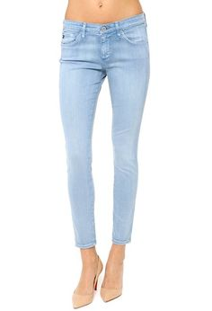 AG Jeans Official Store, The Legging Ankle - Sun-Faded Full Moon Blue, sun faded full moon blue, Women's the Legging Ankle, SSW1389