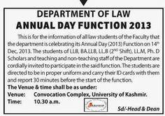 Kashmir-university-department-law-annual