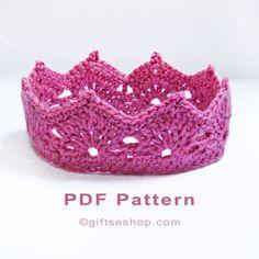 crochet crown pattern n77