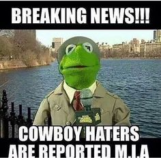 Cowboys haters are M.I.A