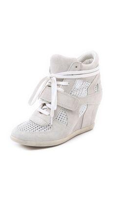 722c3c063 Ash Bowie Mesh Wedge Sneakers Hidden Wedge Sneakers