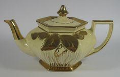 Lovely Arthur Wood Lustre Vase We Take Customers As Our Gods Pottery Pottery, Porcelain & Glass