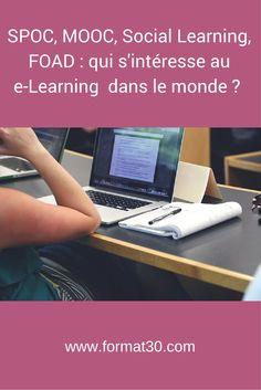 Article sur les recherches dans Google sur les termes elearning, foad, spoc, mooc et social learning.  Avec quelques surprises à la clé...