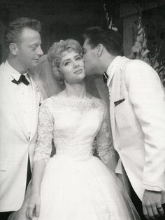 Elvis at the wedding of Red and Pat West on July 1, 1961 Pat was Elvis secretary