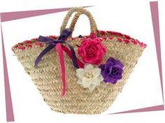 borse di paglia decorate a mano - Recherche Google