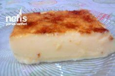 Kaymaçina (Üsküp Tatlısı) Tarifi Cupcake Recipes, Dessert Recipes, Desserts, Flan, Far Breton, Food Platters, Diy Cake, Homemade Beauty Products, Vegan Recipes