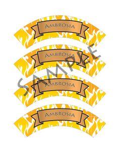 Demigod/Percy Jackson Inspired/Greek God/ by TionneStrife on Etsy, $1.99