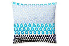 Megha 20x20 Embroidered Pillow