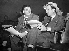 Abbott and Costello read together.