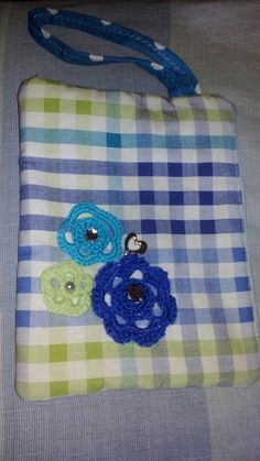 Small bag. Sewing and crochet
