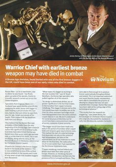 Racton Man article in local Initiatives magazine Chichester, Stone Age, Prehistory, Bronze, Magazine, Prehistoric Age, Magazines, Prehistoric