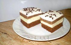 Francúzske karamelové kocky, recept | Tortyodmamy.sk Choux Pastry, Sweet Desserts, Vanilla Cake, Tiramisu, Baking, Ethnic Recipes, Food, Cakes, Fitness
