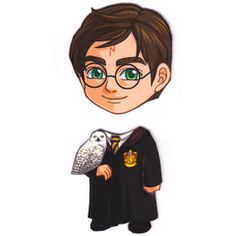 Etsy user Mary Jenkins' Cosplay Scramble Magnets allow you to switch your fandom's faces: Harry Potter