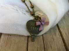 Come Fly Away With Me  Purple Bow Antique by MustLoveMars on Etsy, $8.75