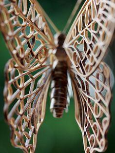 竹虎四代目がゆく!「虎竹のミカドアゲハ」 アゲハチョウ 蝶 ちょう 竹細工 昆虫 虫 竹昆虫 竹 bamboo tigerbamboo bamboocrafts insect butterfly