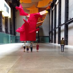 Tate Modern Installation in progress #tatemodern