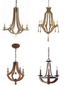 amazon wood chandeliers