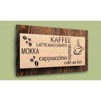 """Schild """"Kaffee"""""""