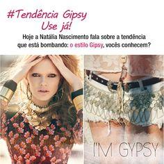Acesse o Blog Verídica It e confira looks incríveis e ousados para ficar linda e principalmente confortável, já que não precisamos usar salto nas alturas! http://www.veridicait.com.br/moda/tendencia-gipsy-use-ja/      #gipsy #moda
