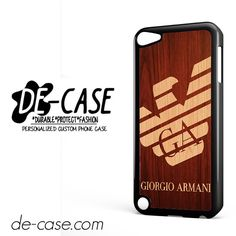 Giorgio Armani Wood DEAL-4660 Apple Phonecase Cover For Ipod Touch 5