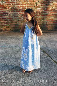 Maxi Kleid - Bias Maxi Dress tutorial