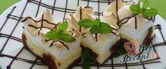 Recept Tvarohový koláč s bílkovou pěnou Nutella, Rum, Cheesecake, Pudding, Baking, Food, Cheesecakes, Custard Pudding, Bakken