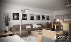 Návrh interiéru obývačiek