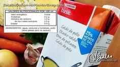 Sopa Quema Grasa Dukan: Caldo Desgrasado sin azúcar añadido