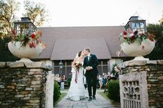 ceremony recessional - photo by Clay Austin Photography http://ruffledblog.com/southern-wedding-with-fashion-decor-elements
