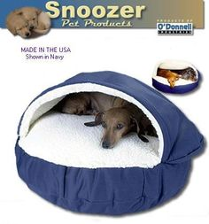 Snoozer Cozy Dog Bed, The Cosy Cave Snuggle Pet Bed for Small Dogs and Cats