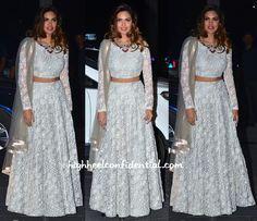 Esha Gupta At Shirin Morani-Uday Singh Wedding Reception-2
