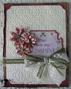 Heartfelt Creations   You Are My Sunshine