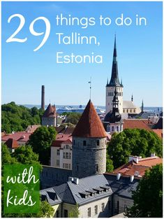 29 reasons to visit Tallinn with kids 29 things to do in Tallinn with kids - exploring the historic capital of Estonia, including its fairytale Old Town, and discovering beach, family-friendly museums, medieval walls and more for children. Europe Travel Tips, European Travel, Travel Guide, Eurotrip, Travel Couple, Family Travel, Amazing Destinations, Travel Destinations, Holiday Destinations