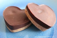 chocolate almond butter cups.