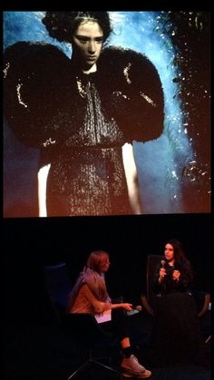Designer & Film Director Esther Louise Dorhout Mees, lecture at EYE Film Museum on her work.