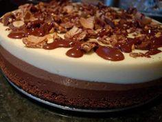 Uma sobremesa dedicado a todos os amantes choclats . - Receita Sobremesa : Tarte de ferrero rocher de Patanisca