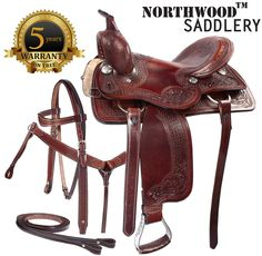 New Pro Cutter Work Ranch Pleasure Saddle 16 18- Western Horse Saddles - Saddle Online