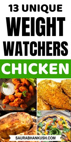 Best Weight Watchers Chicken Recipes with SmartPoints? 13 Weight watchers Chicken Recipes with points that are so tasty that you'll instantly add them in your fav weight watchers snacks list. So cook these protein rich weight watchers chicken. Weight Watchers Snacks, Weight Watcher Dinners, Weight Watchers Chicken, Healthy Pizza Recipes, Ww Recipes, Dinner Recipes, Detox Recipes, Skinny Recipes, Potato Recipes