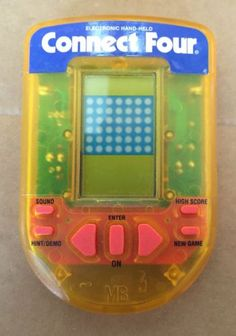 Connect Four Milton Bradley Handheld .. Tested Works Great .. Regular Battery - http://hobbies-toys.goshoppins.com/electronic-battery-wind-up-toys/connect-four-milton-bradley-handheld-tested-works-great-regular-battery/