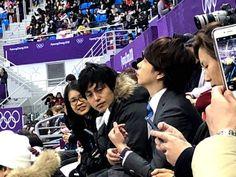 Sakurai Sho caster papapics #PyeongChang2018 #WinterOlympics