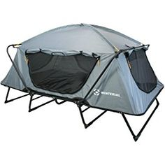 Winterial Double Outdoor Tent Cot / Camping / Family Camping / Adventure/ Elevated sleeping platform / Ultimate camping experience