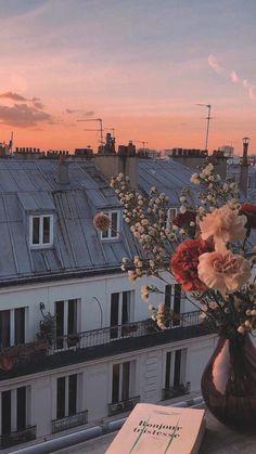 Twitter Aesthetic Pastel Wallpaper, Scenery Wallpaper, Aesthetic Backgrounds, Aesthetic Wallpapers, Paris Wallpaper, Mood Wallpaper, Nature Wallpaper, City Aesthetic, Travel Aesthetic
