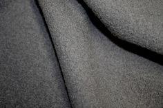 Grey Toscana - Boiled Wool - Wool - Tessuti Fabrics - Online Fabric Store - Cotton, Linen, Silk, Bridal & more