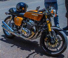 pinterest.com/fra411 #classic #motorbike - Honda 750 Four