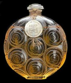 Relief Perfume Bottle, Rene Lalique Perfume Bottles - DJL Lalique