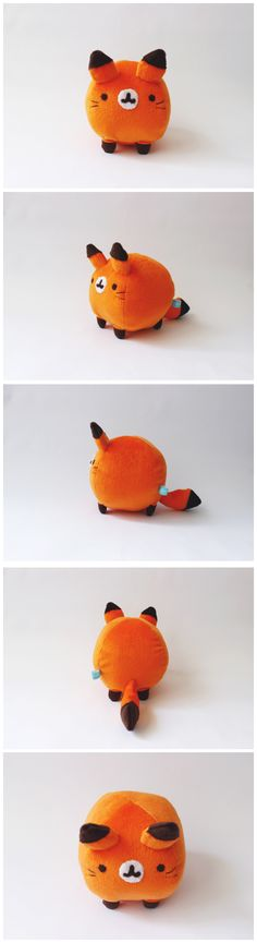 Kawaii Fox Plush,Gonna make it some time!!