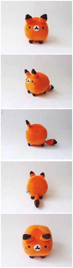 Kawaii Fox Plush,Gonna make it some time!!